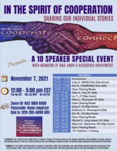 Spirit of Cooperation - Speaker Event